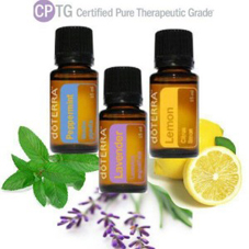 Essential OIls, lemon, lavender and peppermint