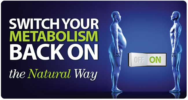 Switch your metabolism on the natural way